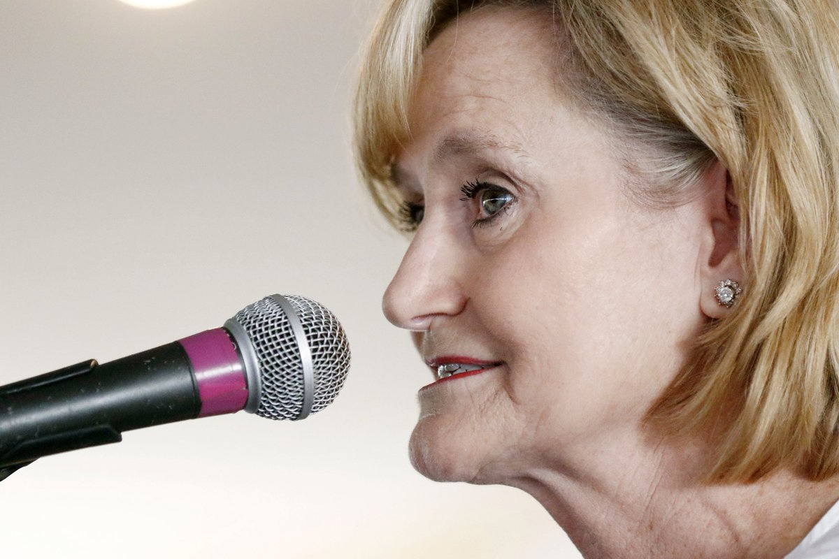 Sen. Cindy Hyde-Smith, a white Republican in Mississippi, is under fire for saying, 'If he invited me to a public hanging, I'd be on the front row.'  581 black people were lynched in Mississippi between 1882-1968, the most of any state, according to @NAACP.