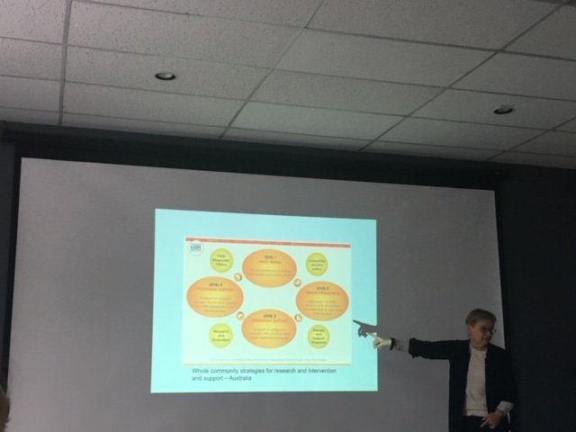 @PooleWavelength and Lindsay Wolfson presented Nov. 7 on gender- and trauma-informed approaches to substance use service delivery at the Newfoundland and Labrador #RecoveryForum, hosted by the @HCS_GovNL #CommunityStrategies #Research #Intervention #Supportpic.twitter.com/qtMXIzfH8f