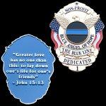 Image for the Tweet beginning: Blue Angel of Hope badge