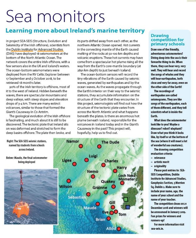 test Twitter Media - A great piece in this month's @INTOnews In Touch Magazine on the SEA-SEIS project. #DIASdiscovers https://t.co/SWdNjR7AO2