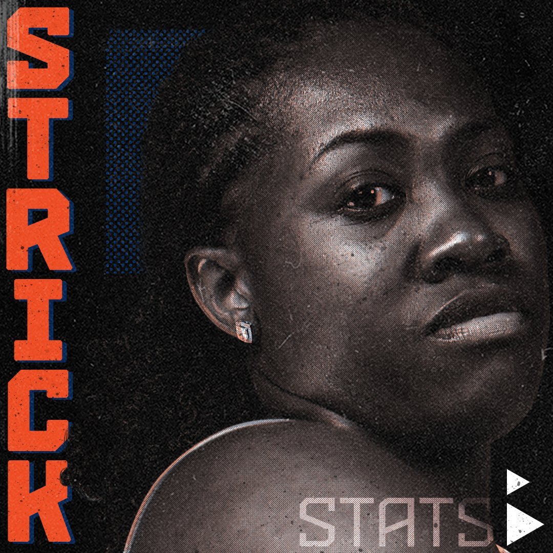 This week we take a look at the dynamic @strick40! The 👌-point queen is riding high after a strong 2018. Check out some of her stats from this past season⬇️⬇️ Happy Strick Week!