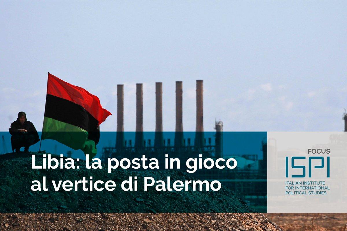 Si è aperta oggi la Conferenza di #Palermo sulla #Libia. Per l'#Italia la stabilizzazione del paese è una priorità e questo vertice è una delle più importanti iniziative di politica estera del governo #Conte. Il focus su obiettivi e possibili scenari: https://t.co/VwVNGr0TcR