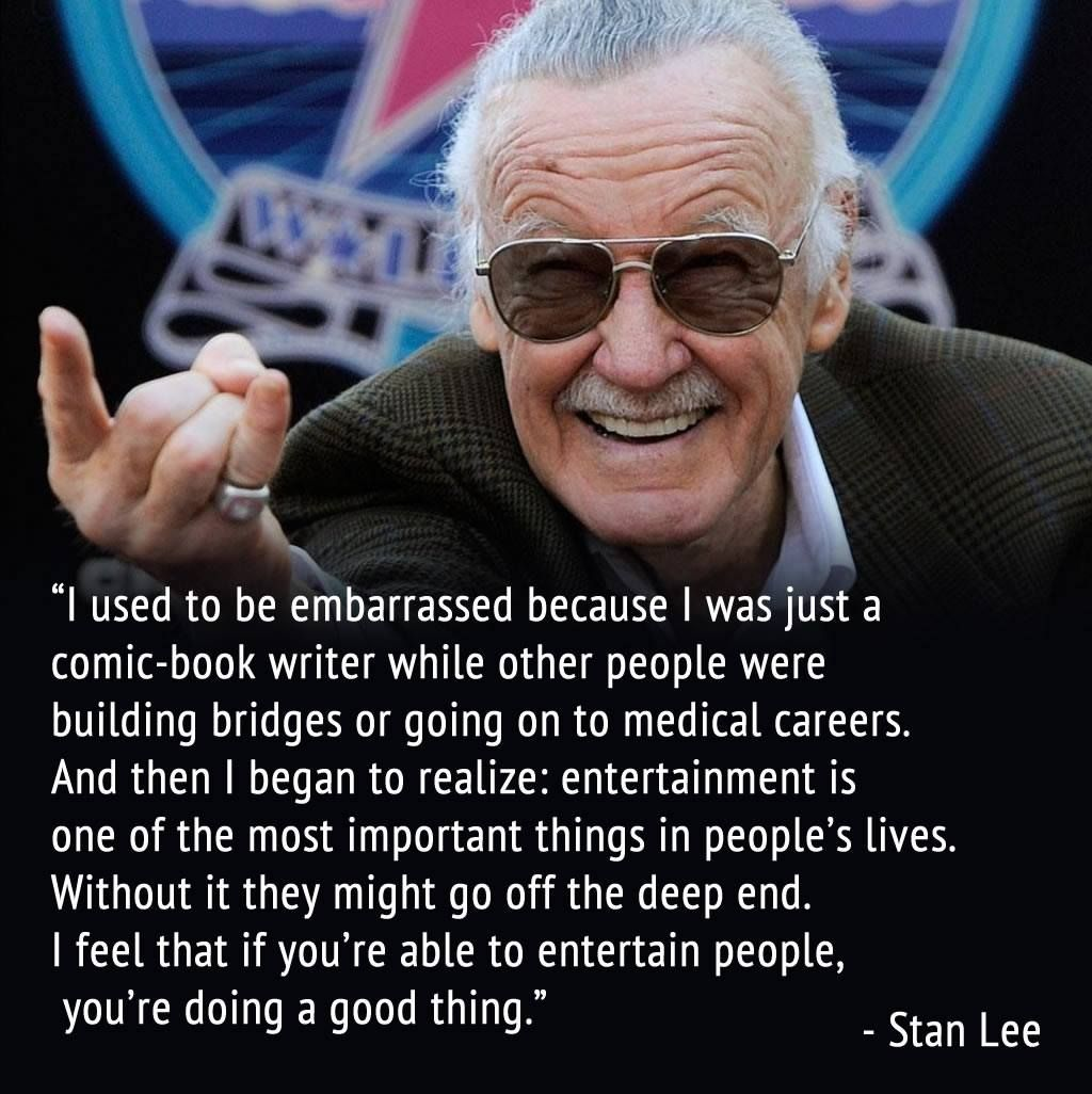 Stan Lee, thank you for giving us amazing heroes.