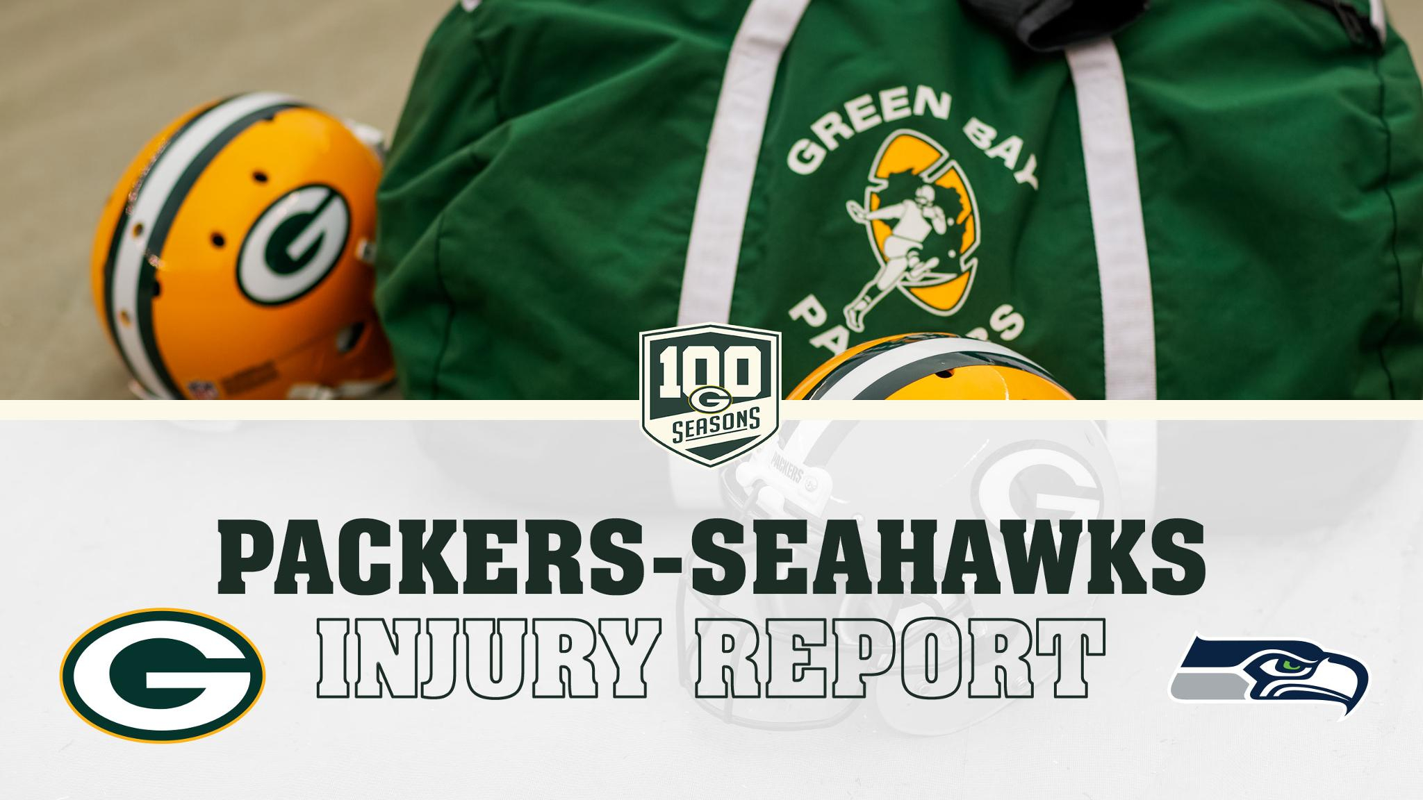 Monday's #GBvsSEA injury report  ��: https://t.co/gT2bkI1CBH https://t.co/LQ8NFKK7pb