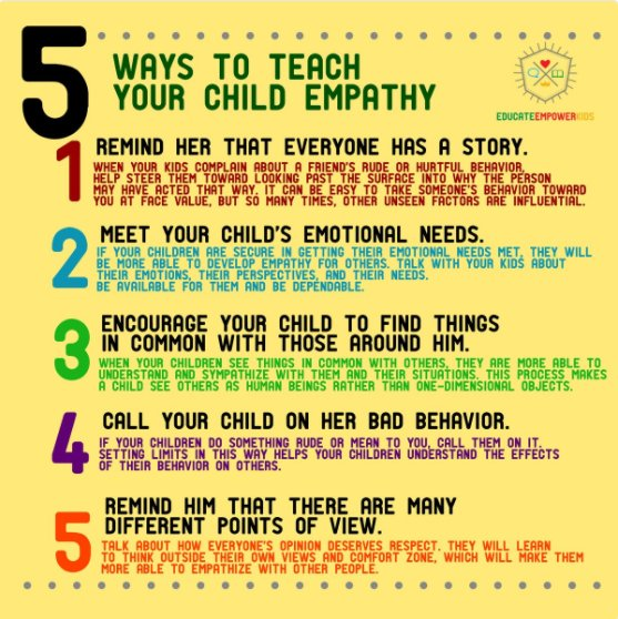 Five ways to teach #empathy #rethink_learning
