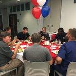 Honoring the @LWTechCollege veterans.