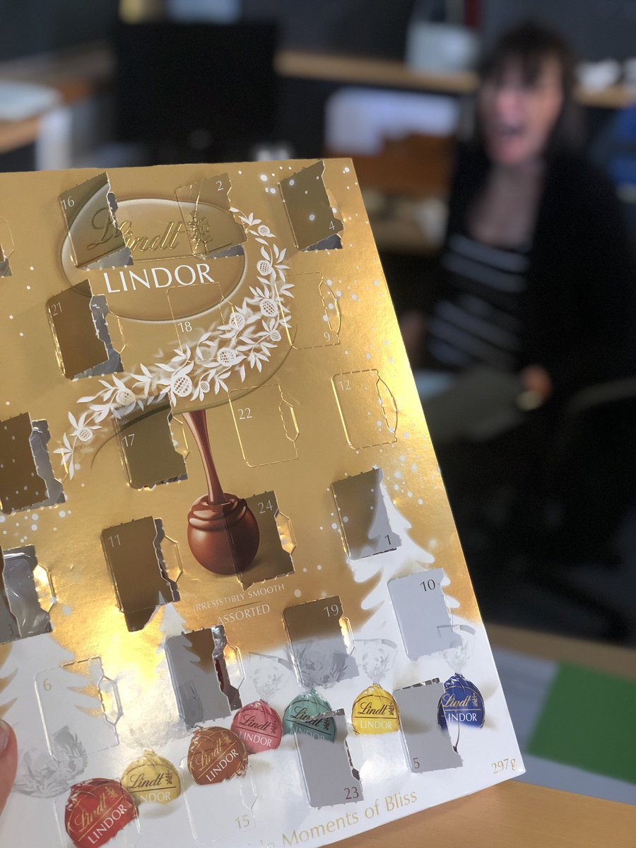 Reports.  Obviously we are struggling... the advent calendar has been opened in a desperate search for chocolate...and it's still November!!!!! 😂