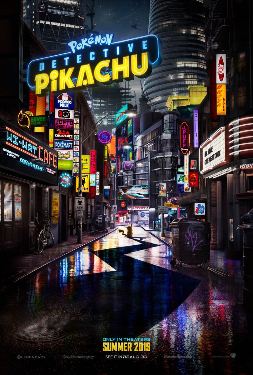 #DetectivePikachu movie poster has been revealed! https://t.co/qxSx02Wlqo