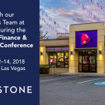 Image for the Tweet beginning: Attending @RestFinance #RFDC in Vegas