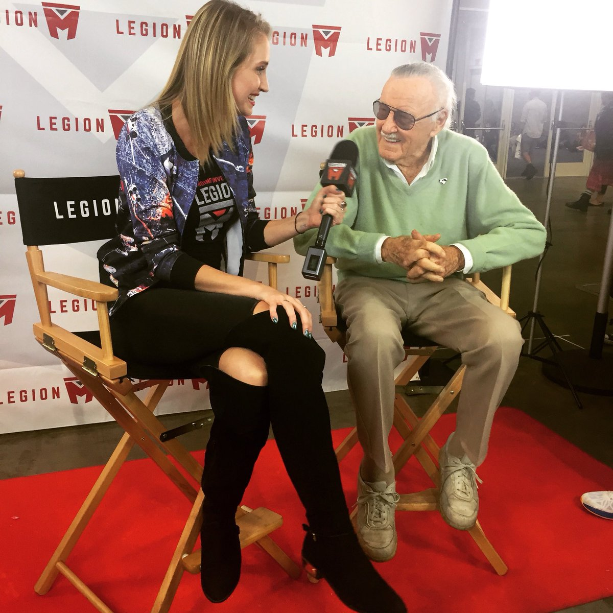 Stan Lee was every geek's grandad. He achieved so much, was so generous with this time and presence and lived a long, impressive life. #excelsior