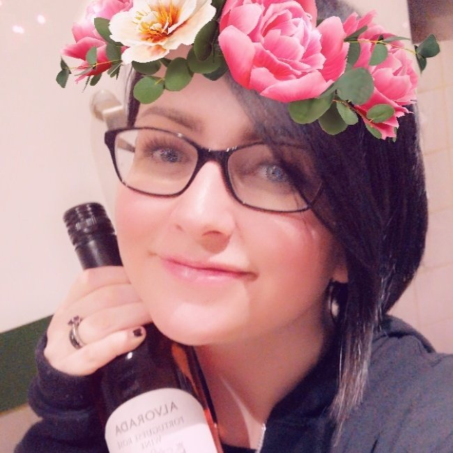 Celebratory I-went-to-therapy wine is definitely a healthy way of dealing with my feelings okay don't @ me