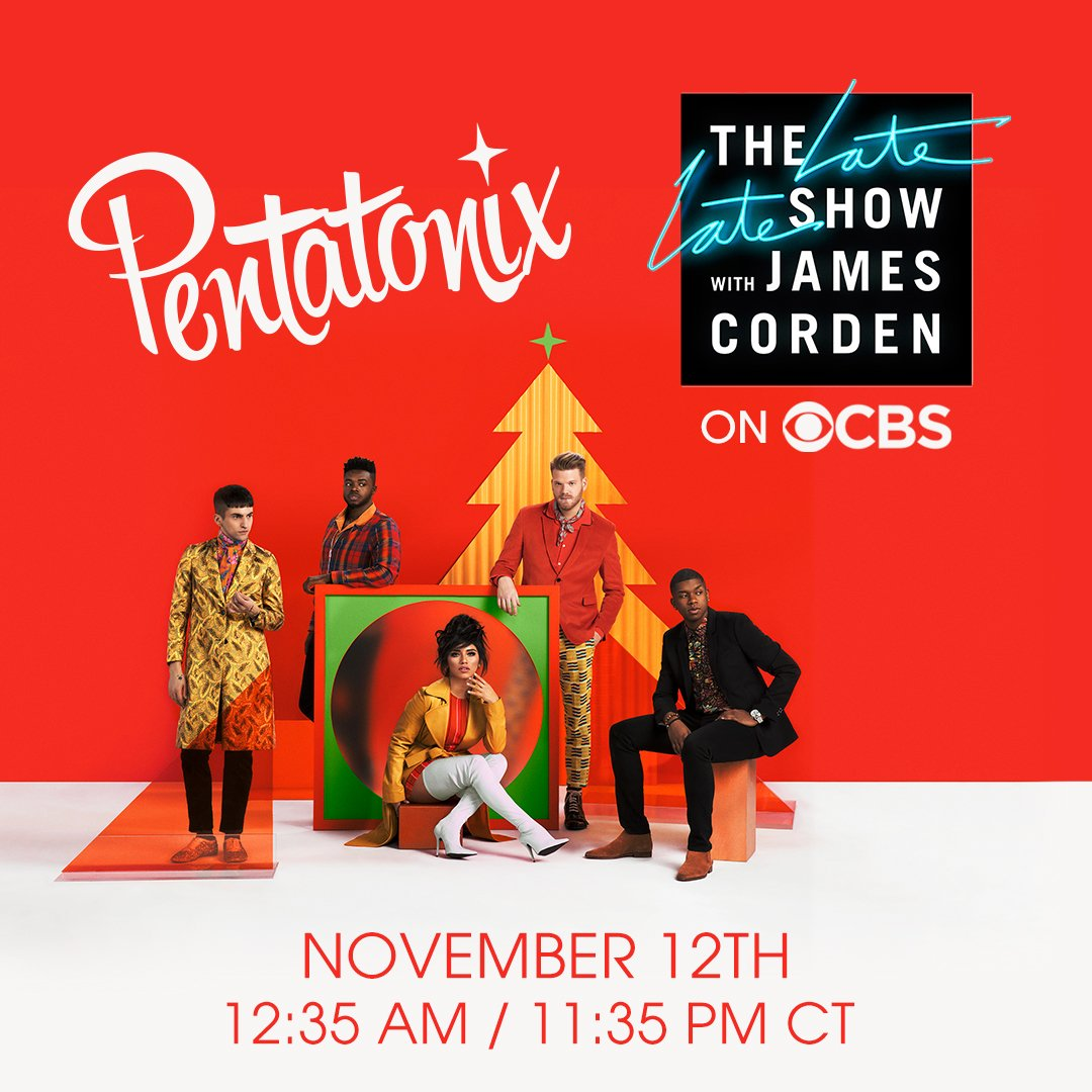 Pentatonix On Twitter Our First Live Televised Performance Of The