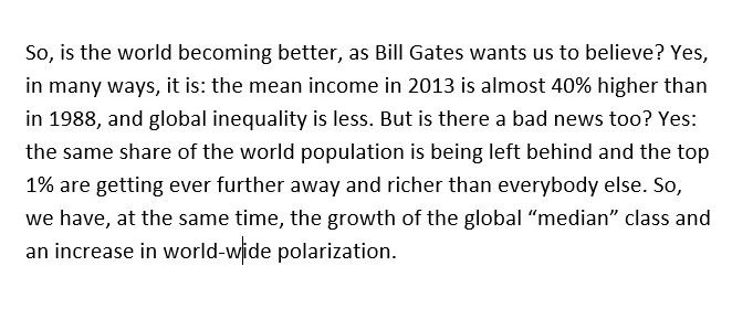 My today's post: What is happening with global inequality? https://t.co/CF2Hg5WF1a (cc. @ChristophLakner; @lisdata; @stone_lis)