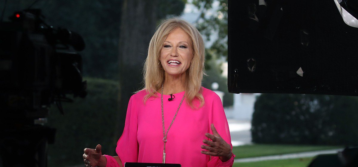 Kellyanne's Four Word Response To Report That Hillary Clinton Is Running For President Again https://t.co/xQvVPvBooU