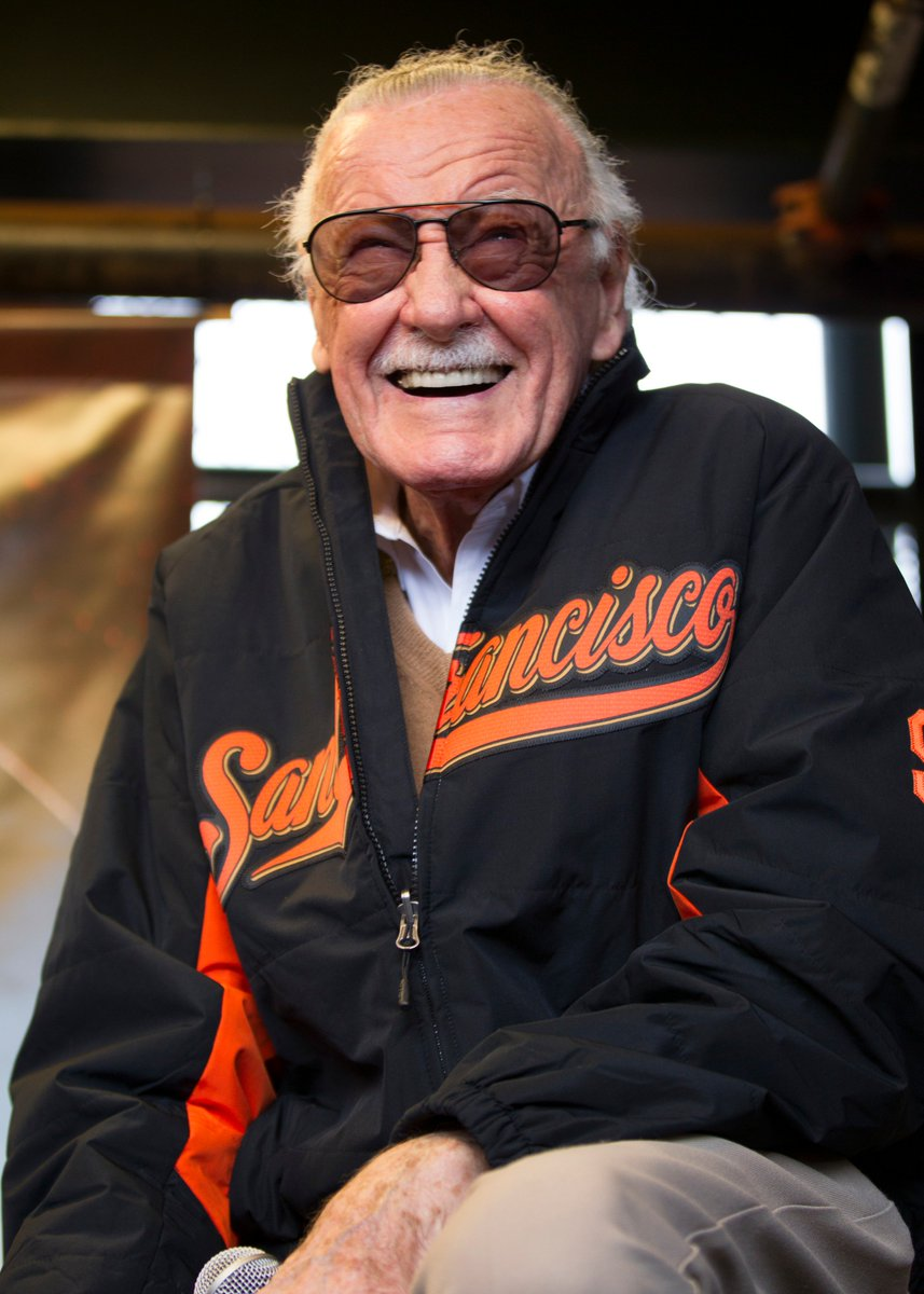 Stan Lee, you will be missed. Rest in peace.  #SFGiants