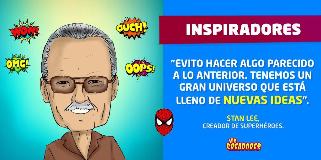 Stan Lee fue el genio detrás de Spider-Man, los X-Men, Thor, Iron Man, Black Panther y los 4 Fantásticos. ¡Un verdadero superhéroe de la creación! 🕺  ✔️Descubre más creadores de leyenda aquí ➡ https://t.co/rCpSveVvxx        🚀  #StanLee #Marvel (ilustración por Jane Lasso) https://t.co/PcFrH4rvl9