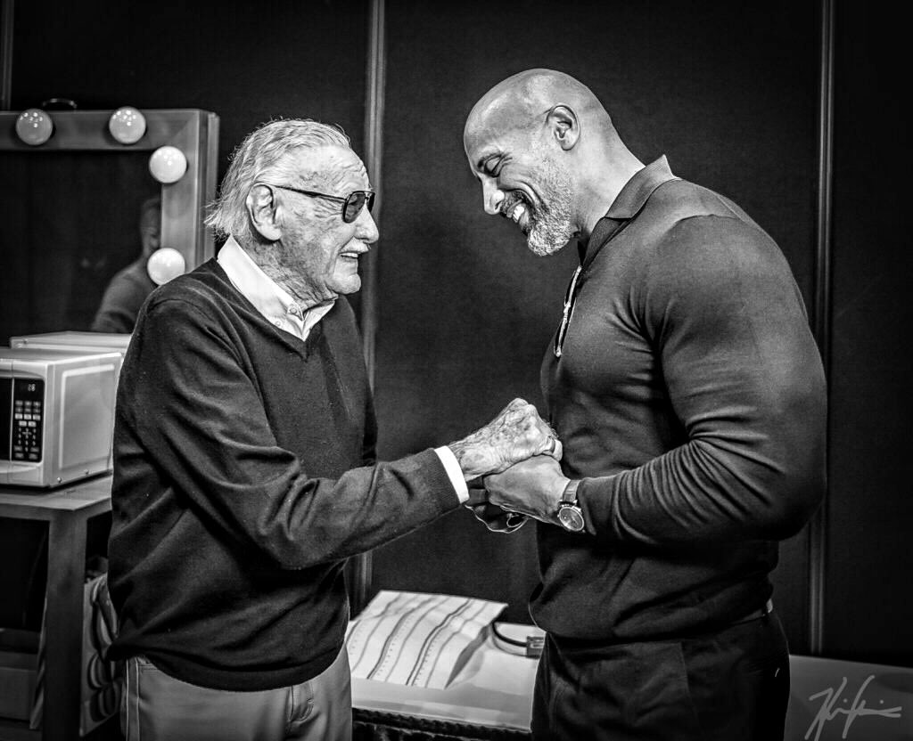 What a man. What a life.  When I first broke into Hollywood, he welcomed me with open arms and some very sage advice I'll forever take to heart.  A true icon who impacted generations around the world.  Rest in love, my friend.  #imagination #stanlee 💫