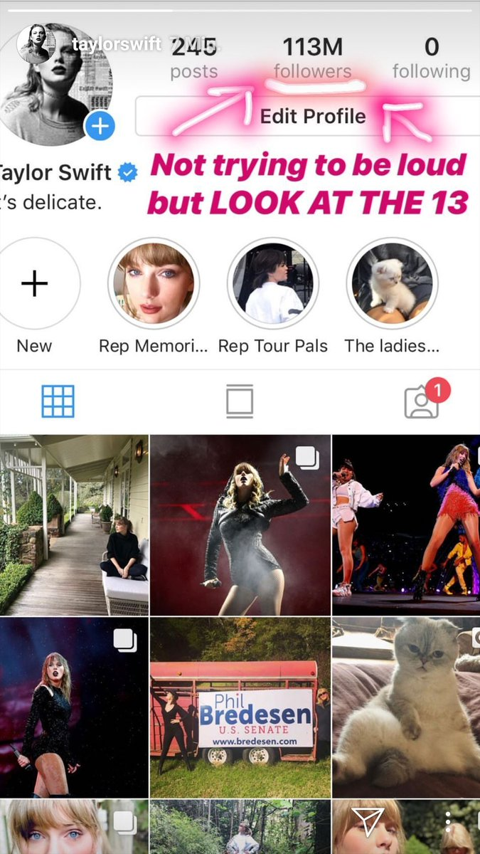 And next step 130M followers!!🔥🔥🔥@taylorswift13 @taylornation13