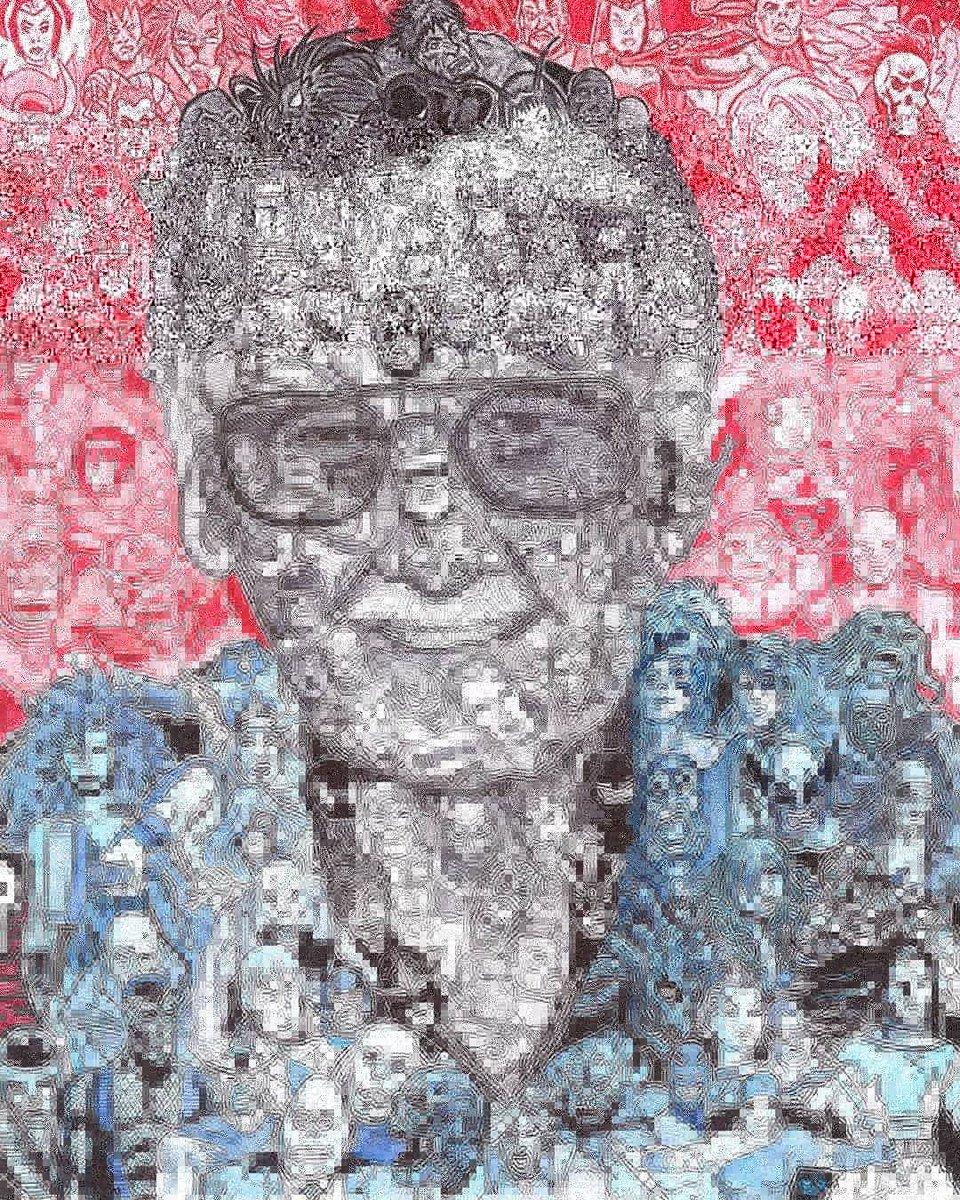 Gözlerinizi Yaşartacak 'Stan Lee' İçin Yapılmış Hüzünlü Çizimler