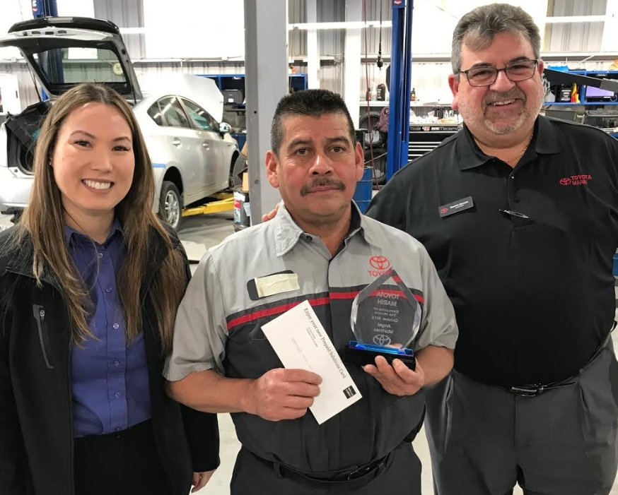 Congratulations To Angel Martinez Who S Been Recognized As Our Employee Of The Month For October Thank You All Your Hard Work And Dedication