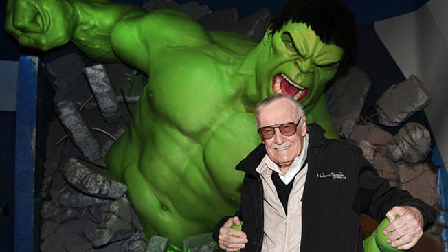 Sad, sad day. Rest In Power, Uncle Stan. You have made the world a better place through the power of modern mythology and your love of this messy business of being human...