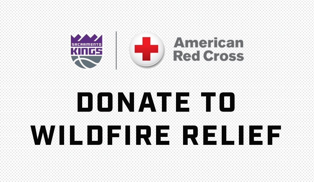 To support those impacted by the catastrophic fires raging in Butte County and across California, the Kings Foundation will match donations to the @RedCross, up to $15,000, to aid devastated communities.  Donate ➡️http://Kings.com/wildfirerelief