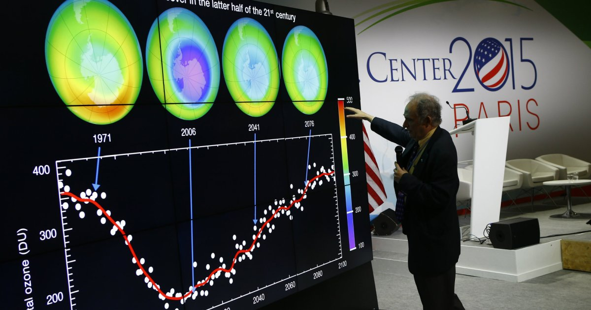 Good news! The ozone layer is on the road to recovery! https://t.co/hZIzXMnplE https://t.co/bwausmNzIT