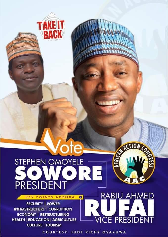 Nigeria Solution   Vote OMOYELE SOWORE  Let TAKEITBACK <br>http://pic.twitter.com/tStH5rlAuM