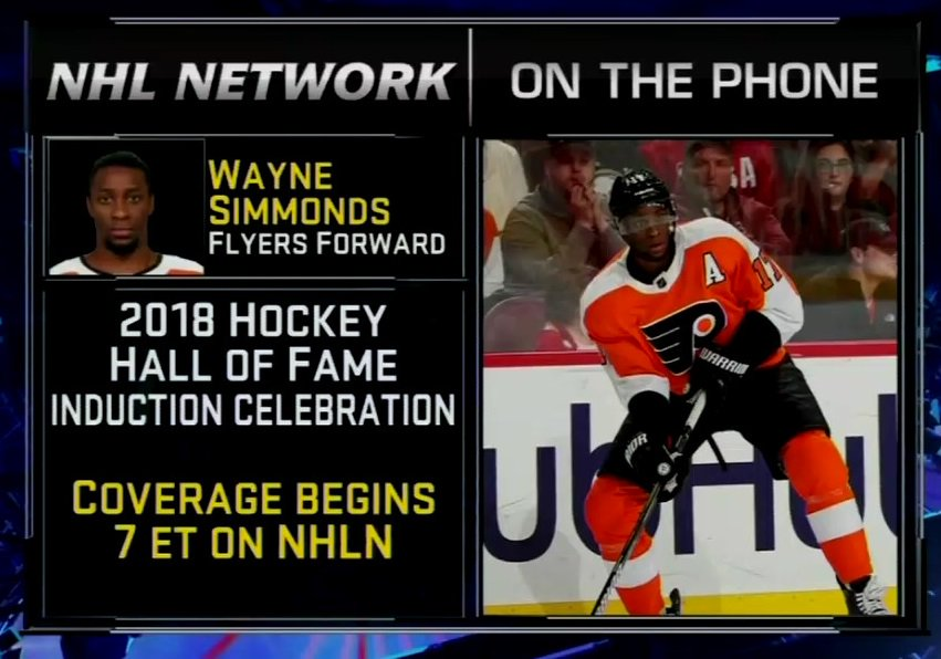 .@Simmonds17 is discussing Willie O'Ree on #NHLNow, right now!
