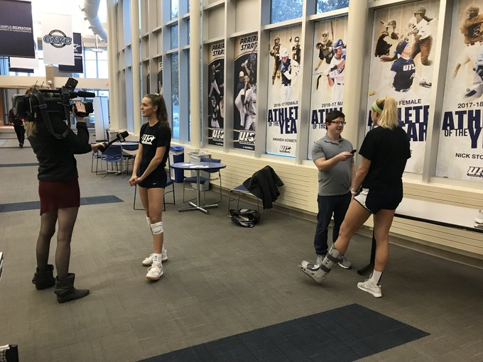 RT @UISAthletics: It was postseason media day this afternoon for @UISVolleyball. Be sure to follow @wics_abc20 and @SJRsports this week for…