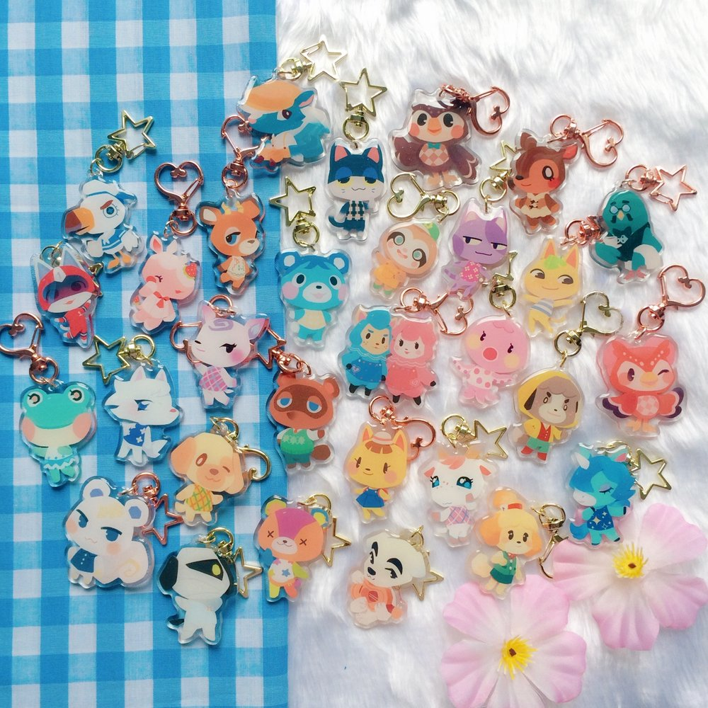 My store is on preorder now! So the animal crossing charms are all available again! Please feel free to take a look if you like~  https:// ieafy.bigcartel.com / &nbsp;  <br>http://pic.twitter.com/GyRDULdeBK