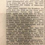 Image for the Tweet beginning: In 1918, Hanna Sheehy-Skeffington informed