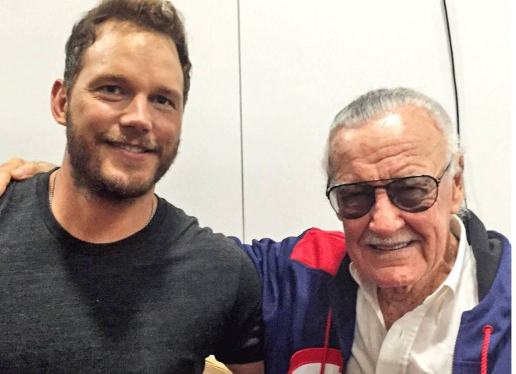 Thanks for everything Stan Lee! What a life, so well lived. I consider myself extraordinarily lucky to have gotten to meet you and to have played in the world you created.  🙏♥️