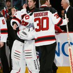 Image for the Tweet beginning: 🎉 to the 🐐 @MartinBrodeur