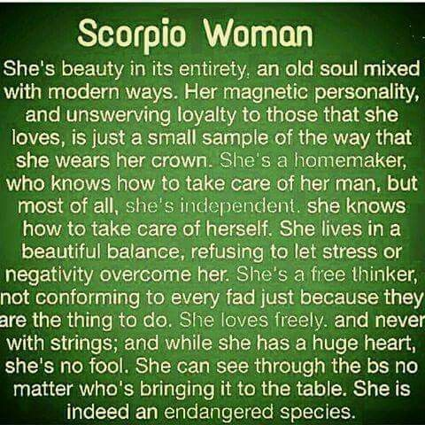 Scorpio woman physical characteristics