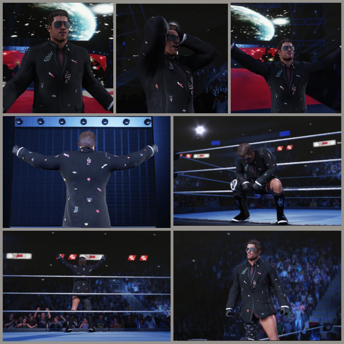 """""""I'm gonna walk down the aisle in style and profile."""" - Ric Flair. <br>http://pic.twitter.com/lVm3pDJDnd"""