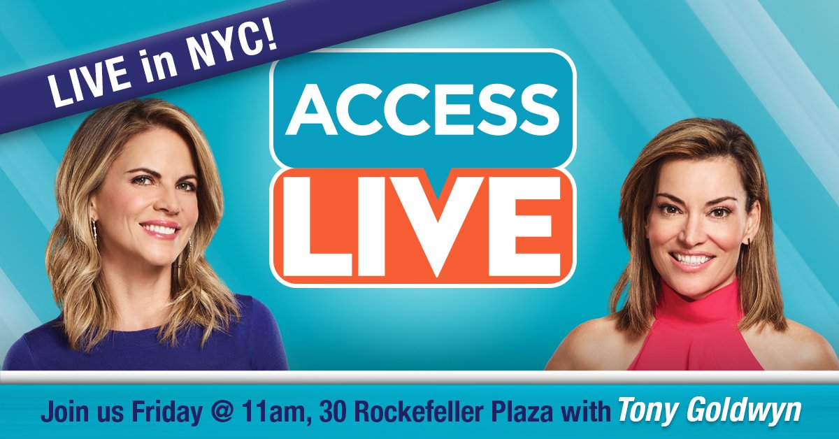 Want to meet Fitz in real life #Scandal fans!? Come join Access LIVE on the 30 Rock Plaza in NYC on Friday!