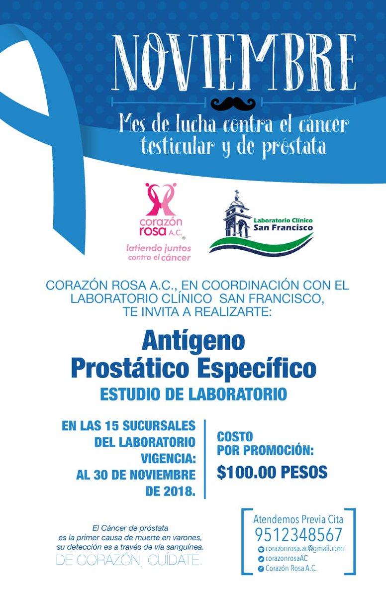 pruebas de laboratorio para la próstata