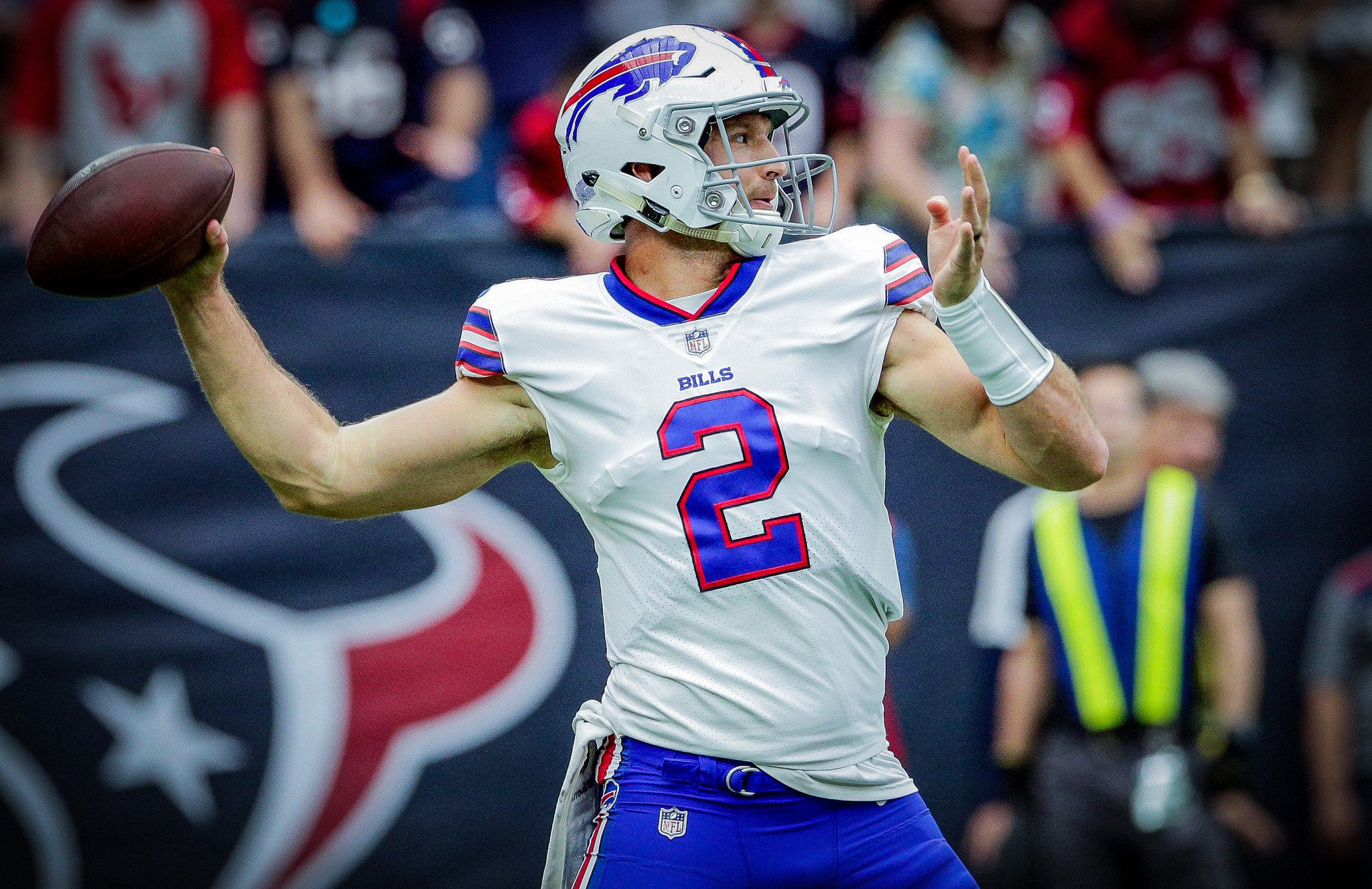 We have released QB Nathan Peterman. https://t.co/1DtMKfvZ0M