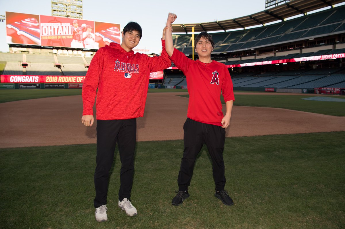 Raise your hand if you're excited about Shohei being the ROY! ✋✋✋✋ https://t.co/TmqV3agfhe