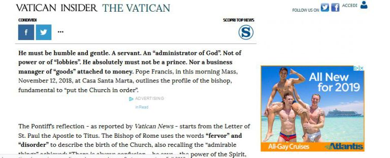 "Oh it's just more ""clericalism""!"