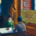 Image for the Tweet beginning: Why this Edward Hopper painting
