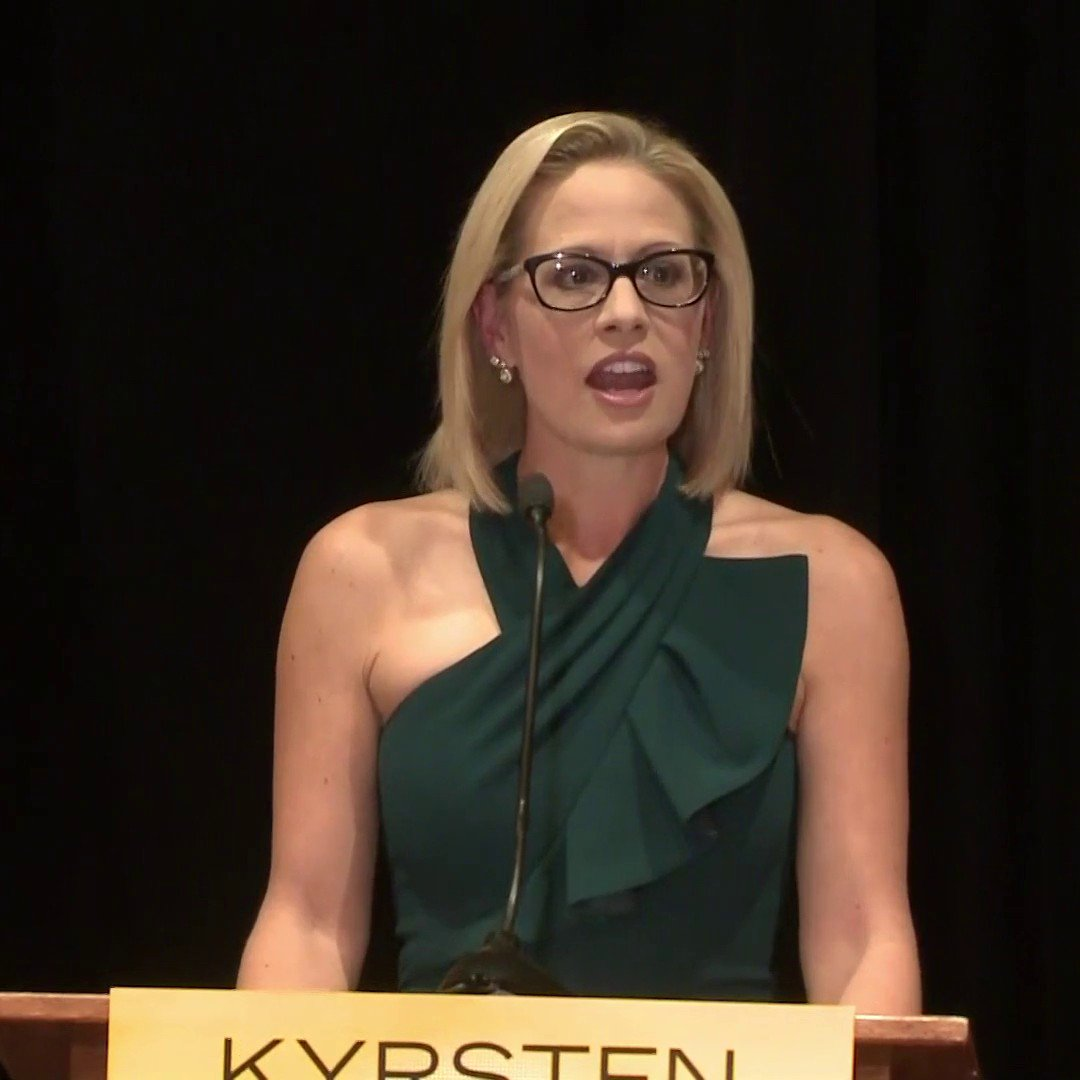 NBC News's photo on Democrat Kyrsten Sinema