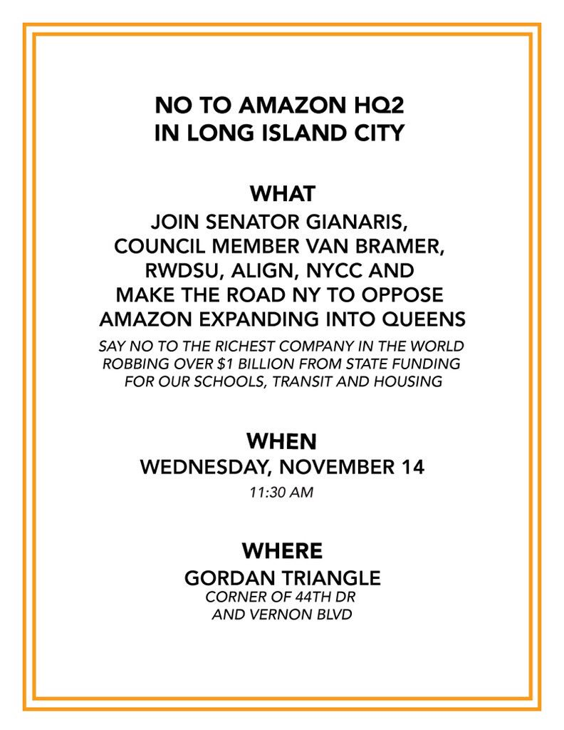 Dr2U4yoX0AAQ  0 Amazon Makes It Official: Long Island City Will Host Part Of Its 2nd Headquarters