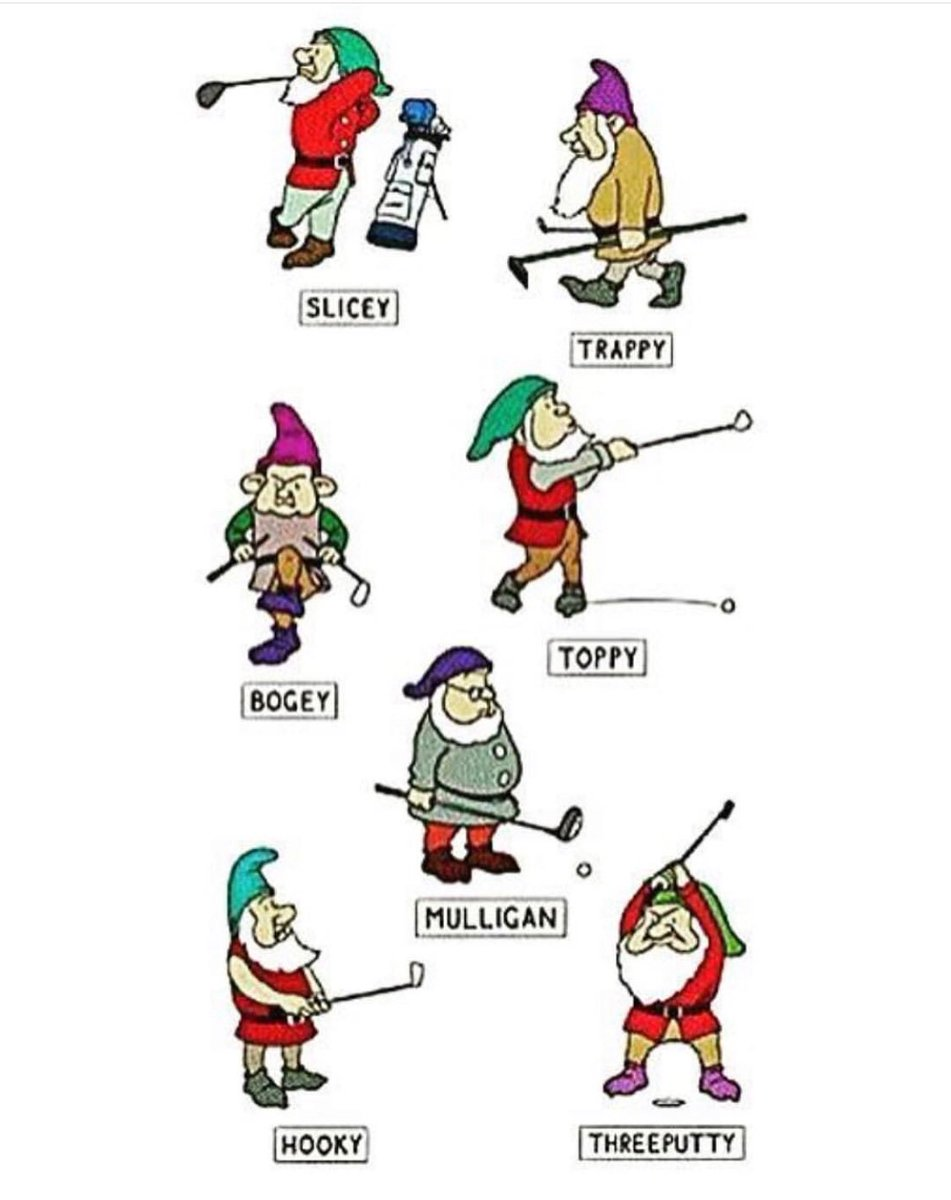 Ok so it's not even Thanksgiving yet but isn't this great. Which on are you? #HoleHecklers #wemakegolfingfunnier #golfingdwarfs