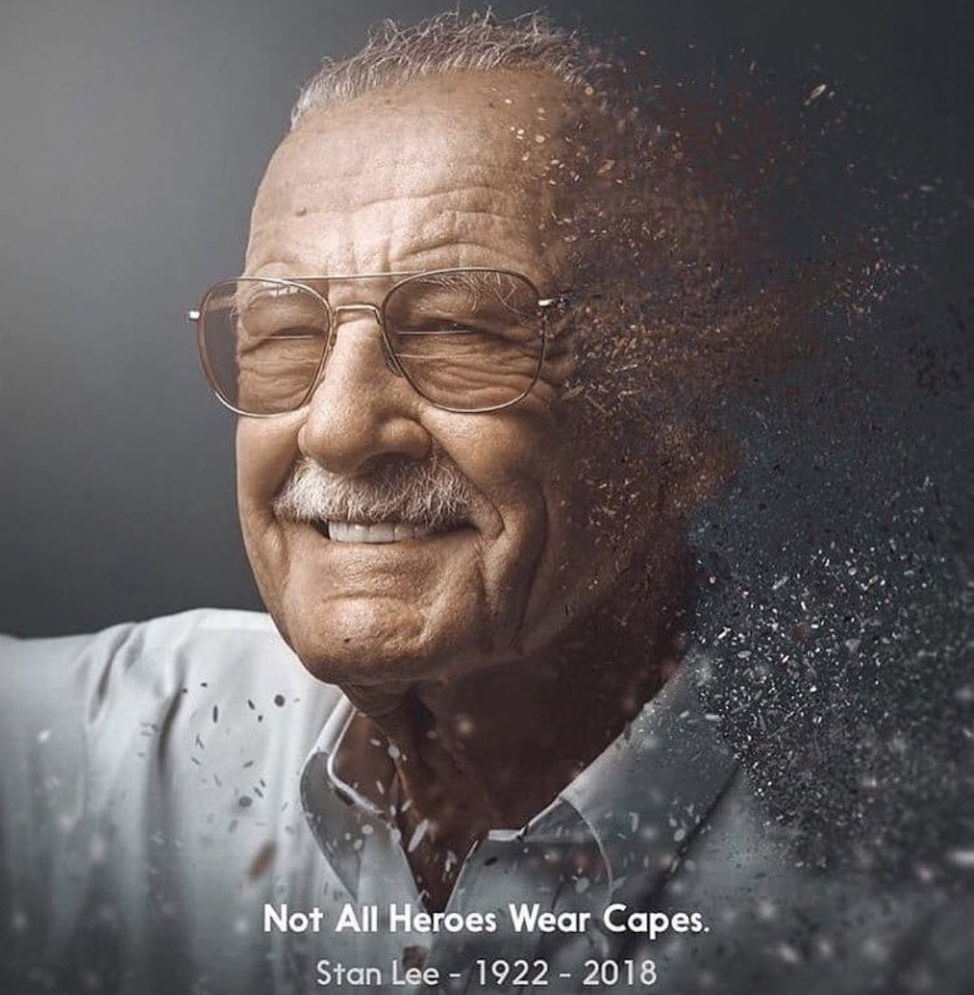 Not all heroes wear capes. Gonna miss the bestest cameo ever. #Respect #RIPStanLee