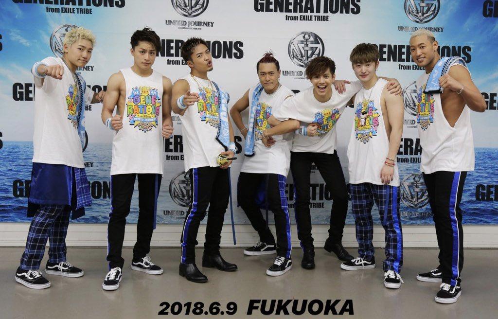 #GENERATIONS LIVE TOUR 2018#UNITEDJOURNEYが、いち早く観れる👀#WOWOW 独占放送まであと5日❗️