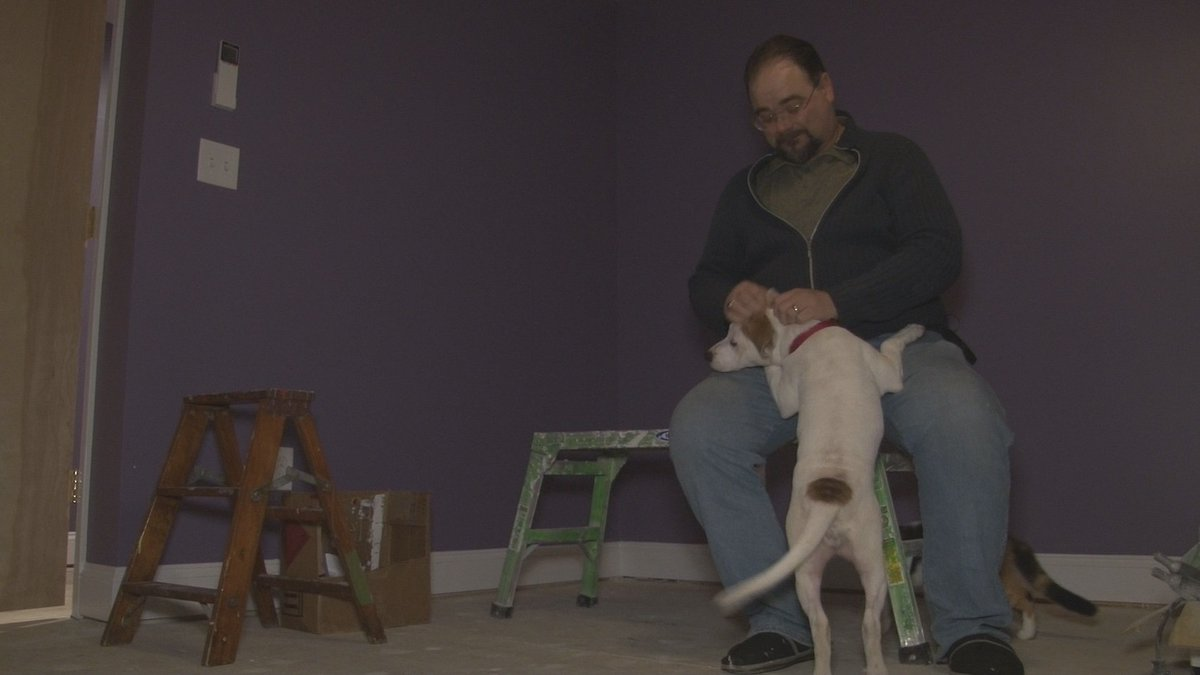 Also at 11- you'll meet a #WNY veteran's newest family member- Tim Degenhardt says Corey is a miracle. @WGRZ
