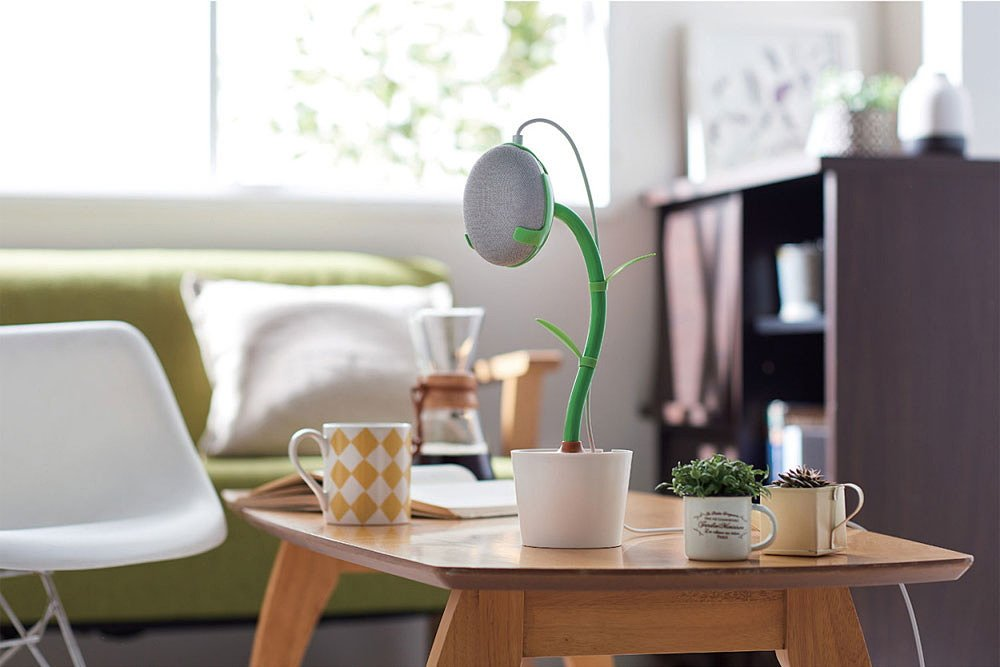 RT @ktai_watch: [ニュース] 「Google Home Mini」が目覚まし時計やフラワースタンドに変身するアイテム https://t.co/evhoZOeTwF https://t.co/BsoaGw8t21