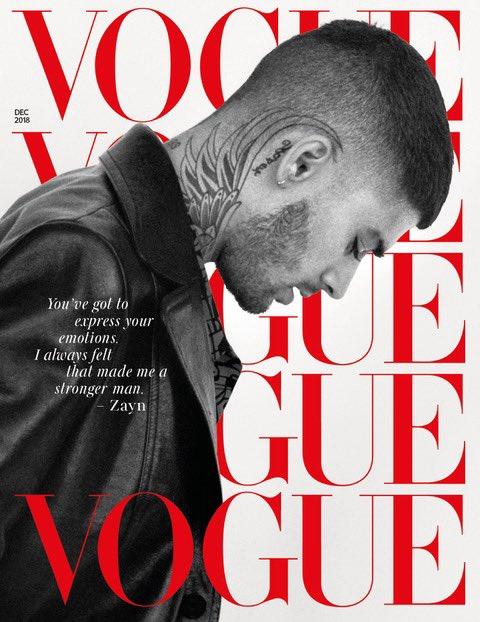British Vogue Cover Dec 2018